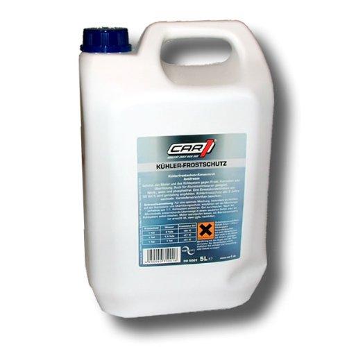 Car1 Langzeit Kühlerfrostschutz grüngelb 5 Liter