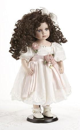 "Delton 18"" Porcelain Doll ""Brianna"""