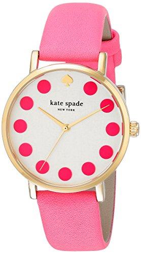 s 1yru0770 metro dot pink watch,kate spade new york women,video review,(VIDEO Review) kate spade new york Women's 1YRU0770 Metro Dot Pink Watch,