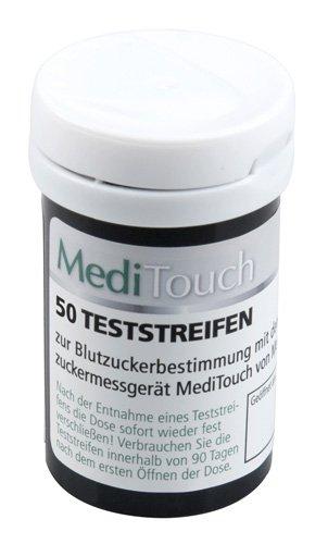 Medisana MediTouch 79027 Teststreifen für Blutzuckermessgerät