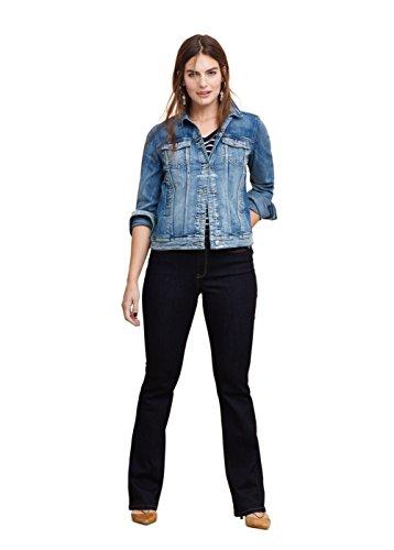 VIOLETA (Plus Size) – Bootcut-jeans Jeans Schlaghosen martha