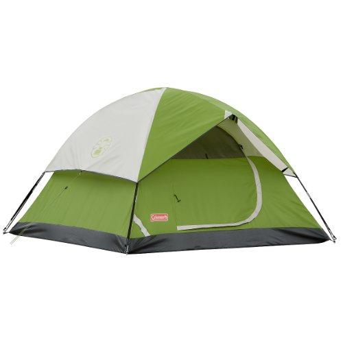 Coleman Sundome 3-Person Tent (Green, 7-Feet x 7-Feet)