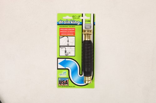 GT Water Products 186 Drain King Unclog Hose Attachment