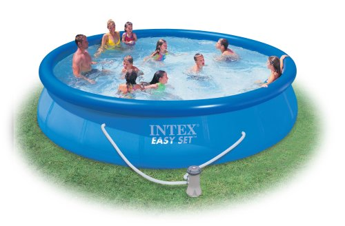Intex Easy Set 15-Foot-by-36-Inch Round Pool Set