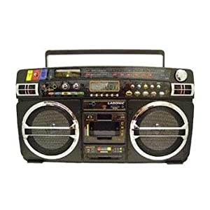 Lasonic i931 boombox with ipod cradle radio - Lasonic ghetto blaster i931x ...