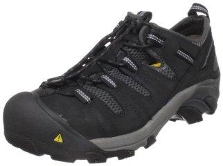 KEEN Utility Men's Atlanta Cool Steel Toe Work Shoe,Black,10 D US