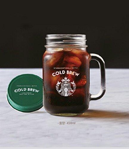 海外限定 *専用BOX付き* starbucks cold brew コールドブリューメイスンジャースタバ 450ml *海外直配送*