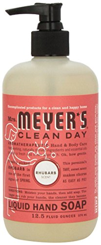 Mrs Meyer39s Clean Day Liquid Hand Soap Rhubarb 125 Oz