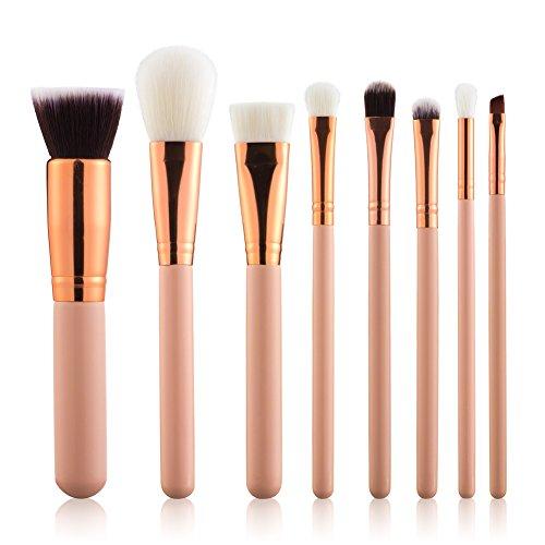 eyebrow brushes kit. summifit makeup brushes set professional contour blush foundation eyeliner eyeshadow eyebrow kit