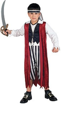 Rubies Masquerade Concepts Costumes Pirate King - Child's Small