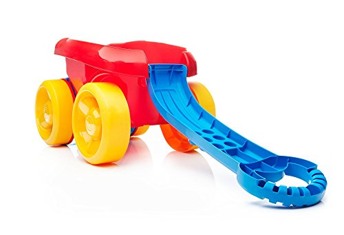 mega bloks block scooping wagon building set red,video review,(VIDEO Review) Mega Bloks Block Scooping Wagon Building Set Red,