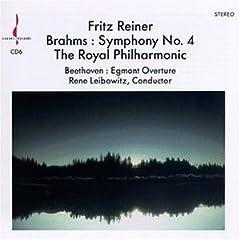 Brahms: Symphony No. 4; Beethoven: Egmont Overture