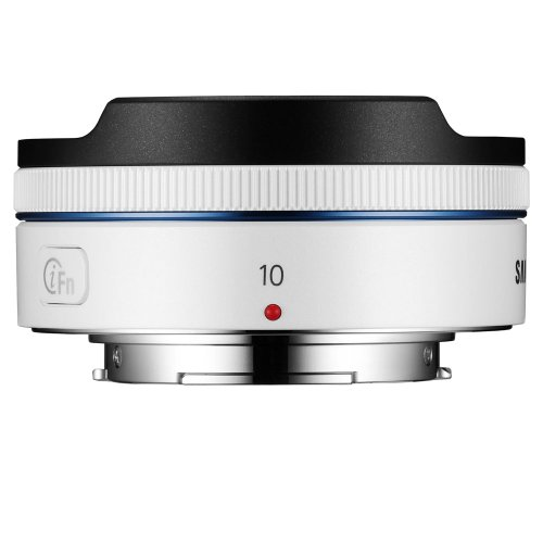 Samsung NX 10mm Fish Eye Camera Lens (White)