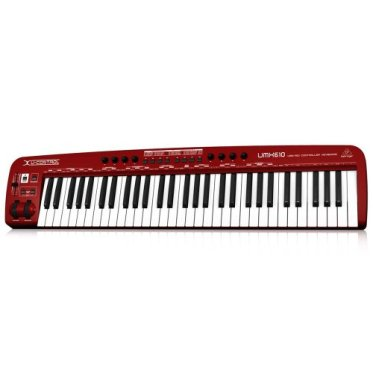 BEHRINGER ベリンガー U-CONTROL UMX610 USBオーディオインターフェイス / MIDIキーボード 61鍵盤