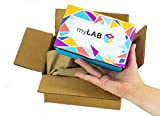 myLAB Box At Home STD Test for MEN - Discreet Mail-In Kit - Lab Certified Results in 3-5 Days (Chlamydia / HIV / Gonorrhea)
