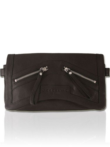 LIEBESKIND BERLIN Vintage Leder Clutch Handtasche - CAROLINE -