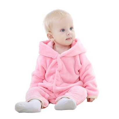 IDGIRL-Baby-Girls-Boys-bear-style-Jumpsuit-spring-Autumn-Romper-Clothing70CM0-3months-pink