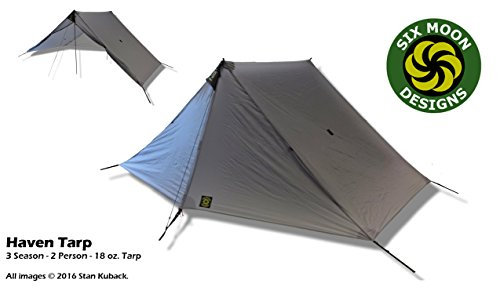 Six Moon Designs Haven Tarp u2013 Gray 2 Person 18 oz.  sc 1 st  Outdoor Outfitter Finds & Six Moon Designs Lunar Duo Explorer - 2 Person Gray Tent ...