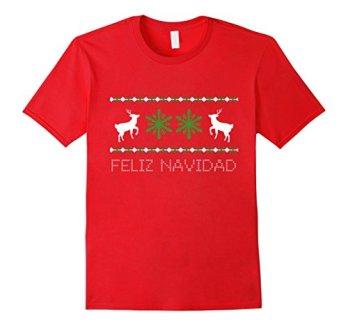 Feliz-Navidad-T-Shirt