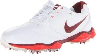 Nike Golf Men's Nike Lunar Control II Golf Shoe,White/Challenge Red/Team Red,11.5 M US