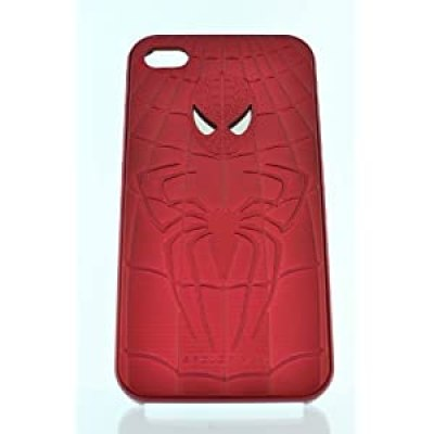 The Amazing Spiderman cool dimensional red snap on hard case for iphone 4/4s at amazon