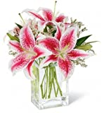 Fresh Cut Flowers - Pink Lily Bouquet