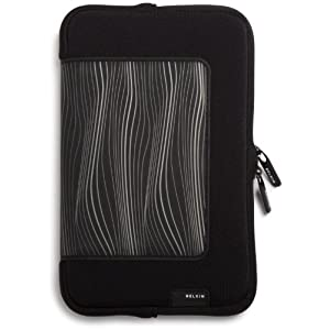 "Belkin Grip Kindle Sleeve (Fits 6"" Display, Latest Generation Kindle), Black/White"
