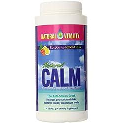 Natural Vitality Natural Calm Raspberry Lemon 16 oz