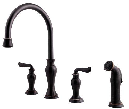 price pfister f0314vay florentino hight arc 4 hole kitchen faucet tuscan bronze ralph l morrisez