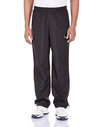 Puma Men's Synthetic Track Pants (83521501 black XL)