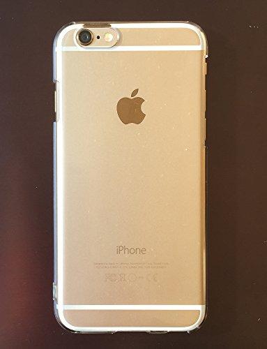 iPhone 6/6S ケース   ストラップ ホール付きハードケース  Apple iPhone 4.7 2014  The New iPhone アイフォン6/6S  クリスタル・クリア 【X156シリーズ】