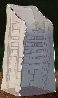 Abdeckung / Schutzhülle für Stapelsessel Stühle