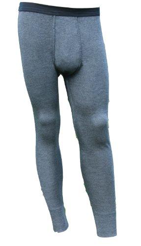 HERMKO 43540 Herren lange Unterhose extra warm Hose mit Eingriff innen angeraut Gr. M L XL XXL 3XL