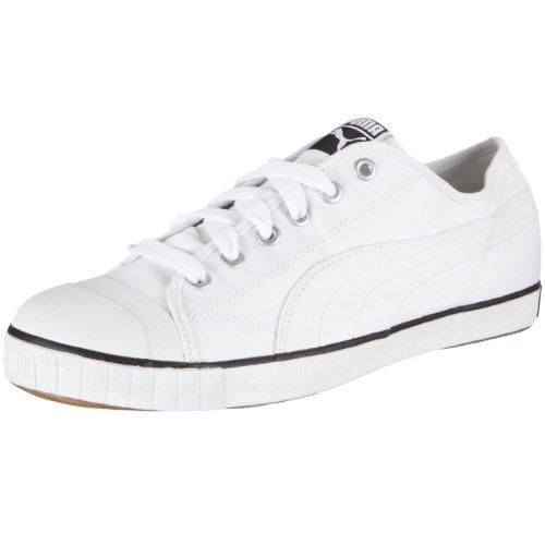 PUMA Rally 351334, Herren, Sneaker, Weiss  (white-black 06), EU 43  (UK 9)  (US 10)