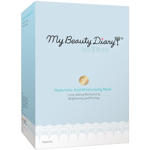 My Beauty Diary Hydrating Mask, Hyaluronic Acid, 10 Count