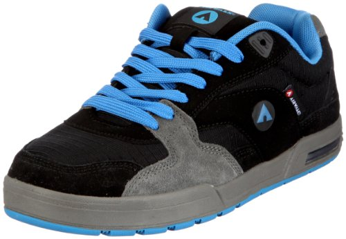 Airwalk Bombtrack 106680-61, Herren, Sneaker, Schwarz (noir/grey/blue 81), EU 42