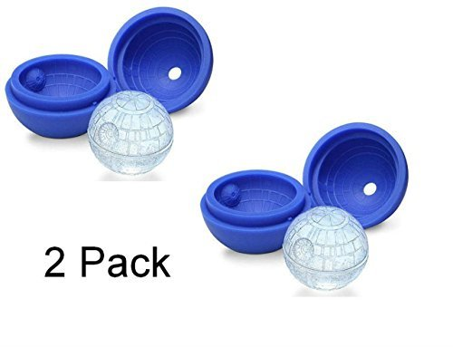 2 Pack Silicone Mold Ice Cube Tray Ball
