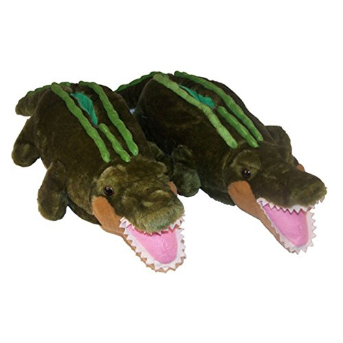 Comfy Feet Alligator Animal Feet Slippers