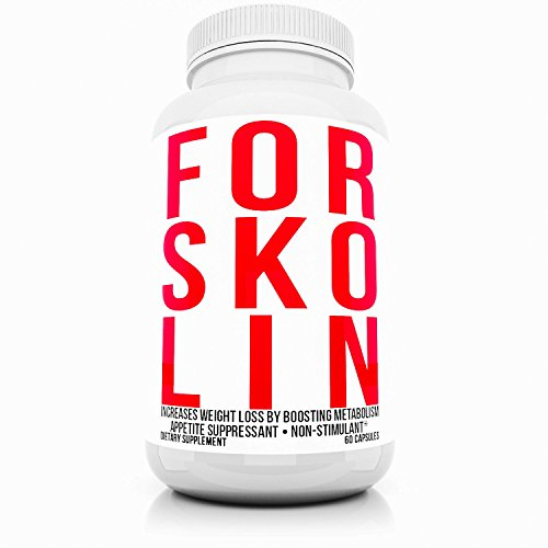 Forskolin Extract For Weight Loss Pills 250mg 60 Capsules All Natural Organic Maximum Strength Herbal Appetite Control & Suppressants Analyzed Diet Pills That Work Fast for Women Men's Dieting