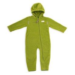 Hoppediz-O-80-green-Fleece-Trage-Overall-80-86-grn