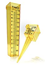 home improvement Rain guage with sprinkler gauge