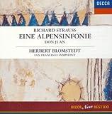 R.シュトラウス:アルプス交響曲 交響詩 ドン・ファン
