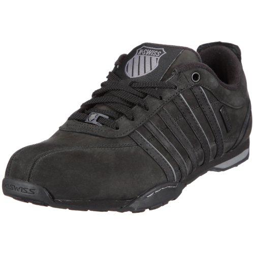 K-Swiss ARVEE 1.5 02453-006-M Herren Sneaker, schwarz (black/charcoal), EU 42, (UK8)