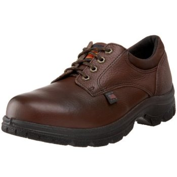 Thorogood American Heritage Oxford Safety Toe Oxford, Root Beer, 10 M US