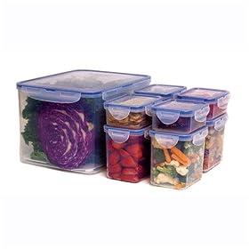 Airtight Food Storage Container Set - 17 Piece Lock & Lock