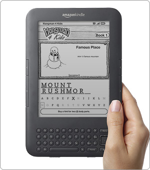New Game for the Kindle - Hangman Kindle (platform)