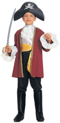 Rubie's Courageous Captain Child's Costume, Small