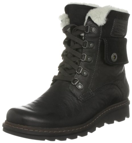 camel active Fjord 11 750.11.01, Damen Stiefel, Schwarz (black), EU 38 (UK 5)