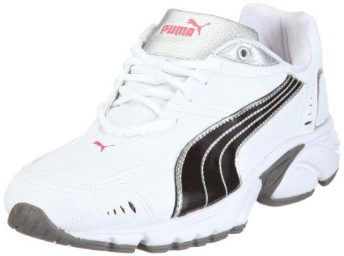Puma Xenon TR SL 185765, Herren, Sportschuhe - Running, Weiss (white-black-puma silver 02), EU 40.5 (UK 7) (US 8)
