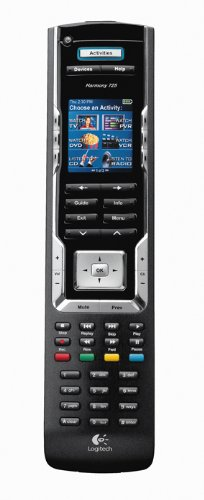 Logitech Harmony 785 Universal-Fernbedienung (LC-Display, USB-Kabel) schwarz